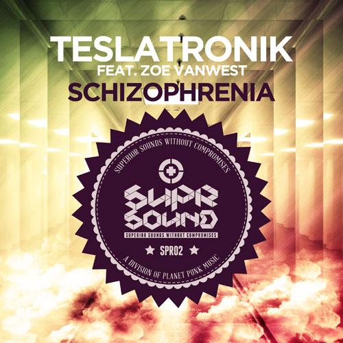 TeslaTronik feat. Zoe VanWest - Schizophrenia
